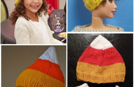 Candy Corn Hats are Extra Cute for Halloween