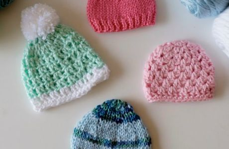 Warm Up America Seeks Tiny Hats for Africa