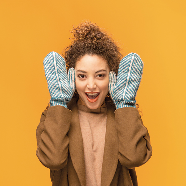 How to Knit the Warmest Mittens Ever