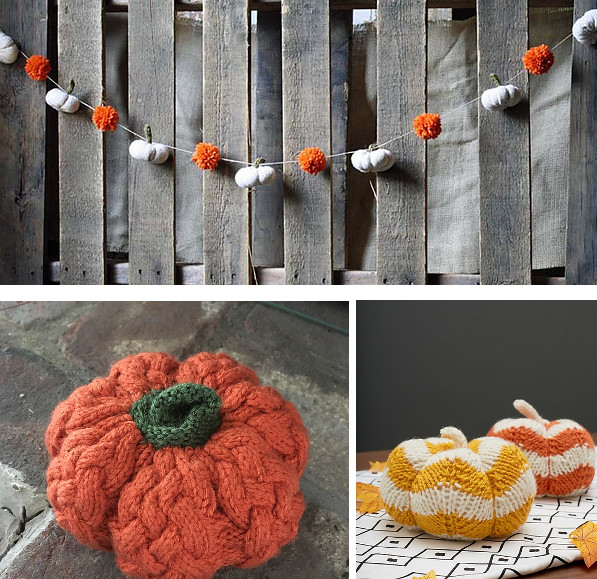 pumpkin knitting patterns