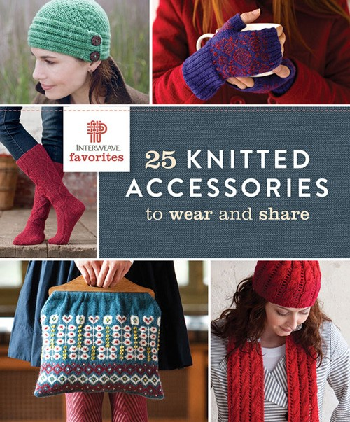 25 knitted accessories book