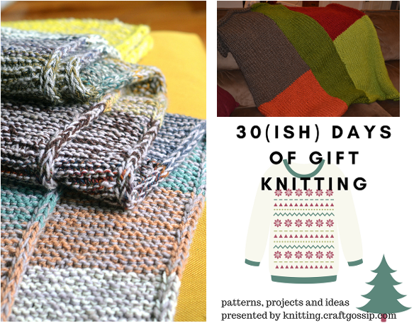 quick blanket knitting patterns
