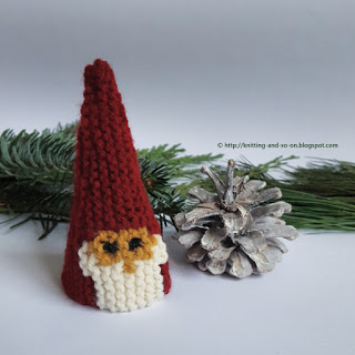Sweet, Simple Garter Stitch Gnomes