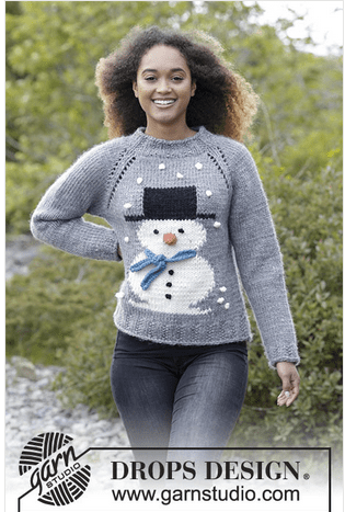 snowman sweater for women and kids