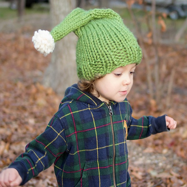 little kids elf hat knitting pattern