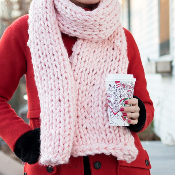 It's Cold Out There — Knit a Scarf!