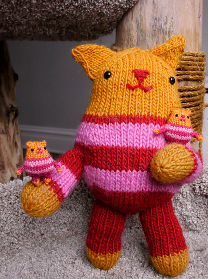 kate's kitty from knitty
