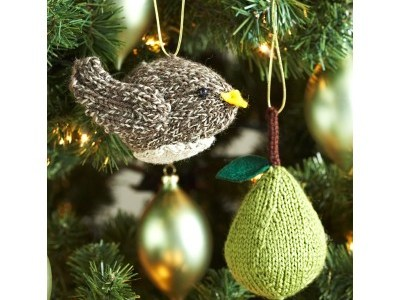 Knit a Partridge and/or a Pear for Your Tree