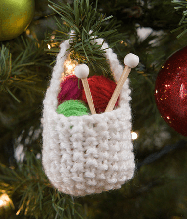 Stitch a Yarn Basket for a Knitting Friend