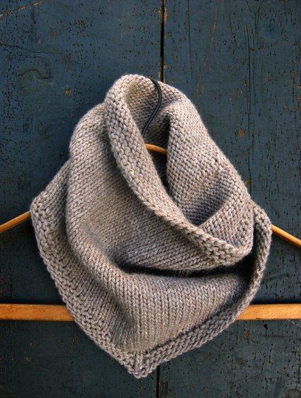 bandana cowl knitting pattern