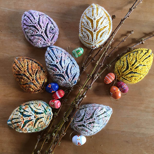 brioche easter eggs