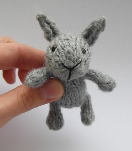 tiny bunny knitting pattern