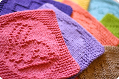 Knit Cloths for Easter from KrisKnits