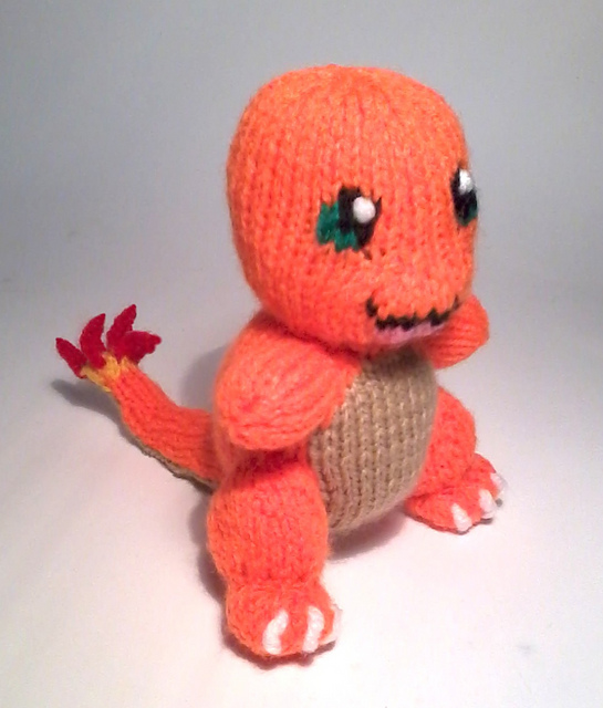Fun Pokemon Patterns to Knit
