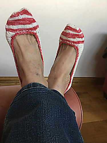 no show sock knitting pattern