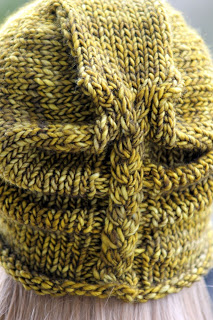braided cable hat knitting pattern