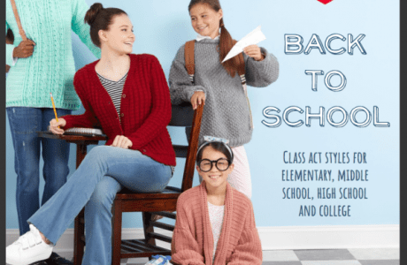 Fun Knitting Ideas for Back to School