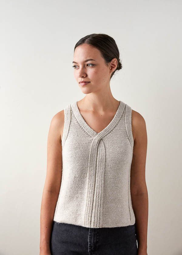 Knit A Classic Tank Top With This Free Pattern Knitting