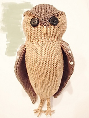 Knit An Owl For Halloween Or Any Other Time Knitting