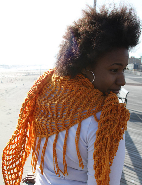 sweet november shawl knitting pattern