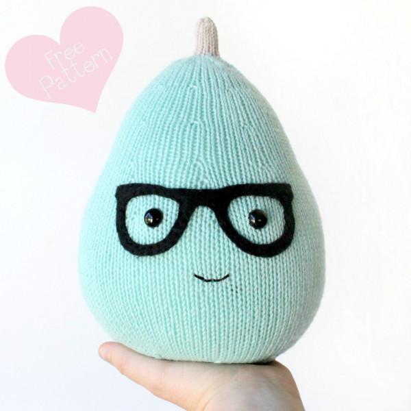pear amigurumi knitting pattern