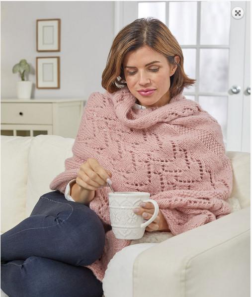 heart shawl knitting pattern