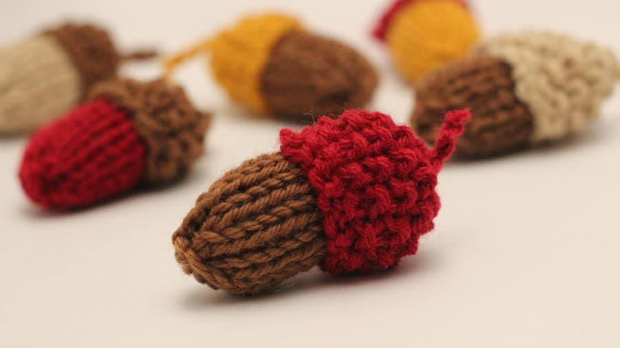 acorn knitting pattern