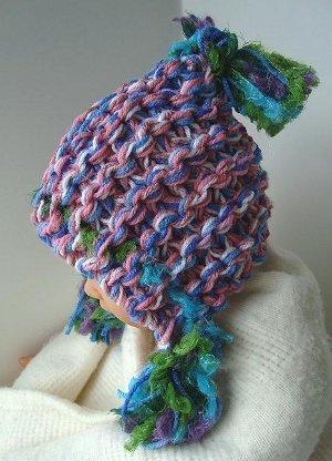 hoodie hat knitting pattern