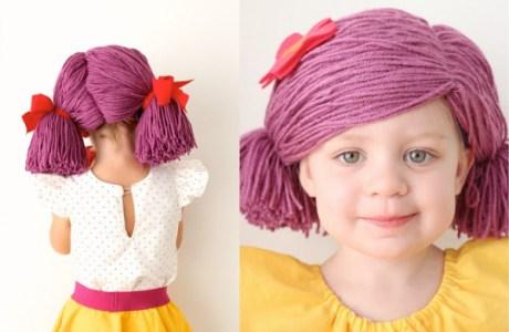 How to Make Yarn Wigs for Halloween
