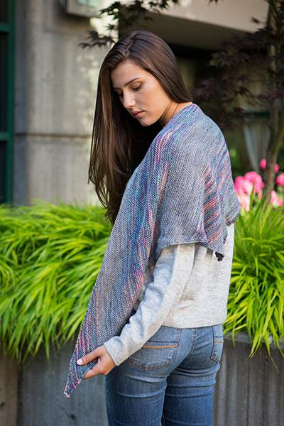 brindle shawl knitting pattern