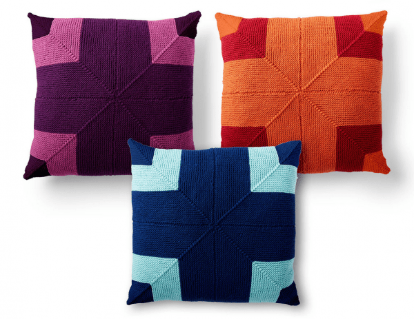Knit a Pillow that Makes a Big Statement