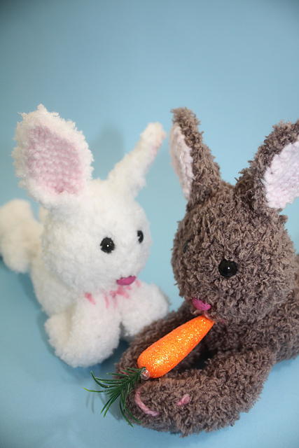 fuzzy bunny knitting pattern