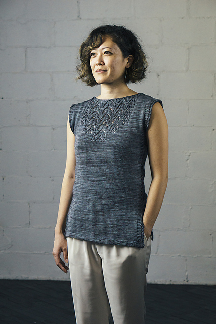arequita tunic knitting pattern