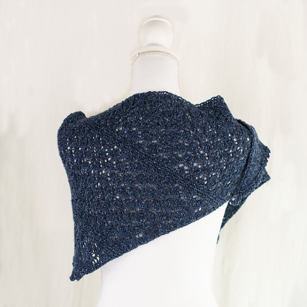 A Sweet Lacy Shawl to Knit for Summer