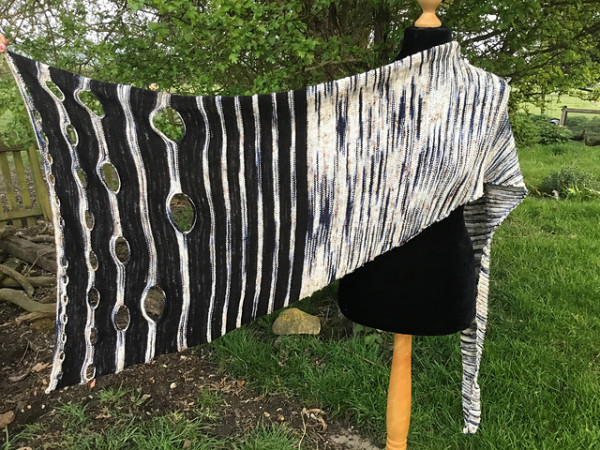 night king shawl knitting pattern