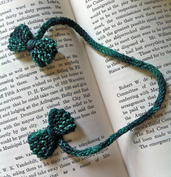 Stitch a Sweet Bowtie Bookmark for Dad