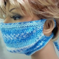 Knitting Pattern - How To Make Your Own Knitted Face Mask
