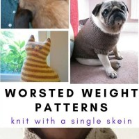 Over 12 Single Skein Projects for Worsted Weight Yarn