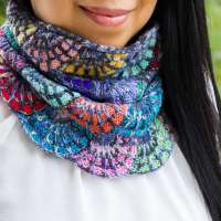 Knit a Stained Glass Cowl with this Fun Knitting Pattern