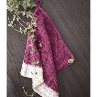 Knitting Pattern - Catalina Dishtowel
