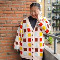 Bring on the Colors with the Last Cardigan Knitting Pattern