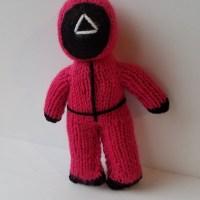 Squid Game Worker Knitting Pattern