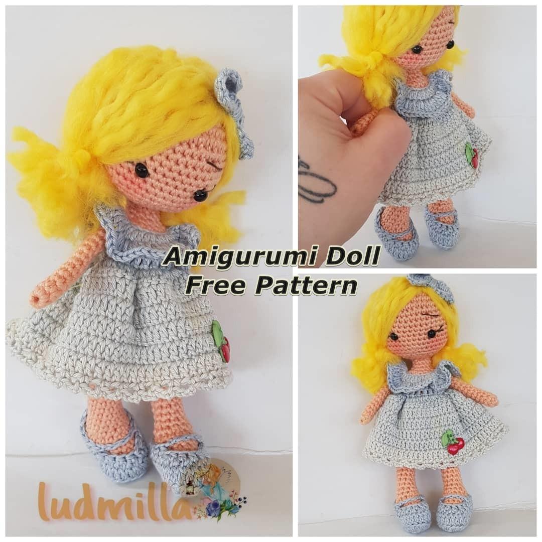 Amigurumi Doll Fairy Tale Baby Free Crochet Pattern