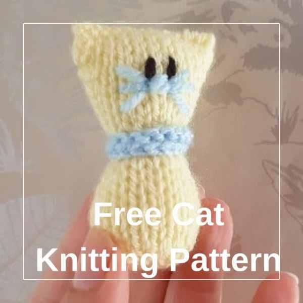 free cat knitting patterns # 59
