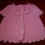 Knitted Boys and Girls Baby Sweater, Vest Cardigan ...