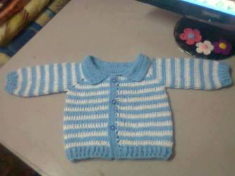 Knitted baby and child sweater patterns (215)