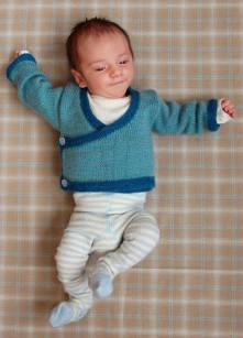 Knitted baby and child sweater patterns (219)