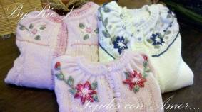 Knitted baby and child sweater patterns (232)
