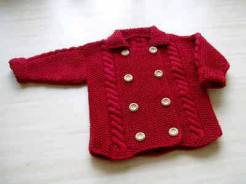 Knitted baby and child sweater patterns (247)