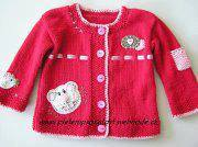 Knitted baby and child sweater patterns (255)